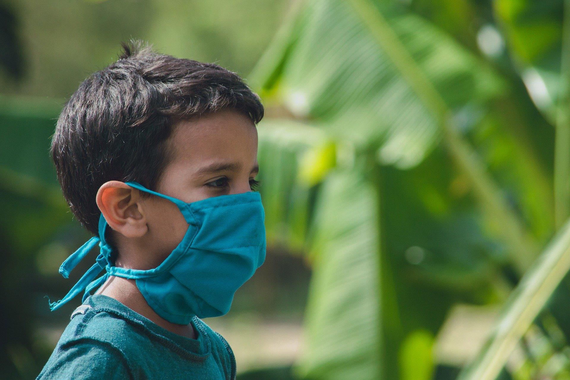 cuidados del coronavirus en niños