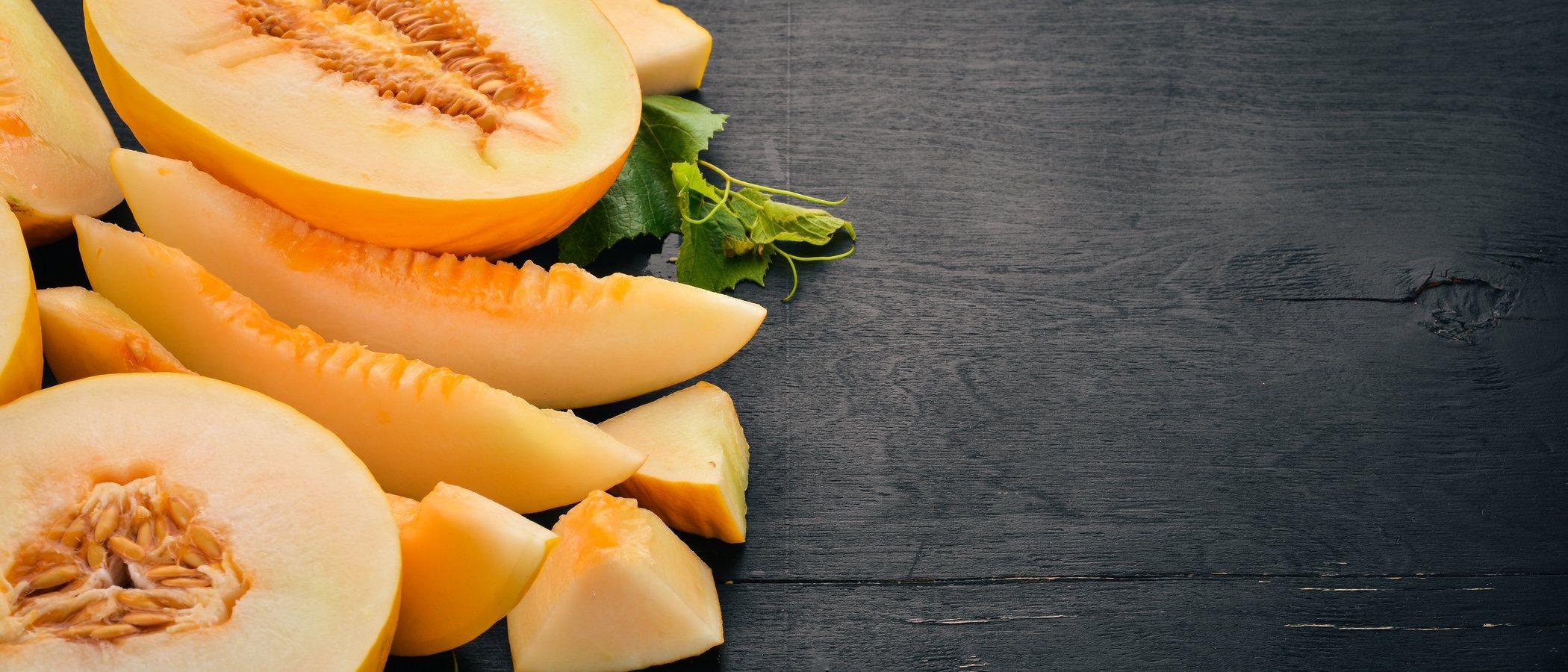 beneficios del melón para la piel