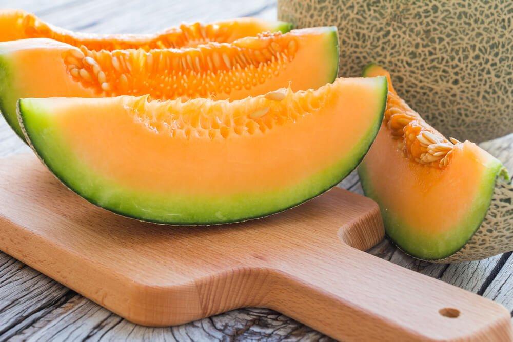 el melón para la piel